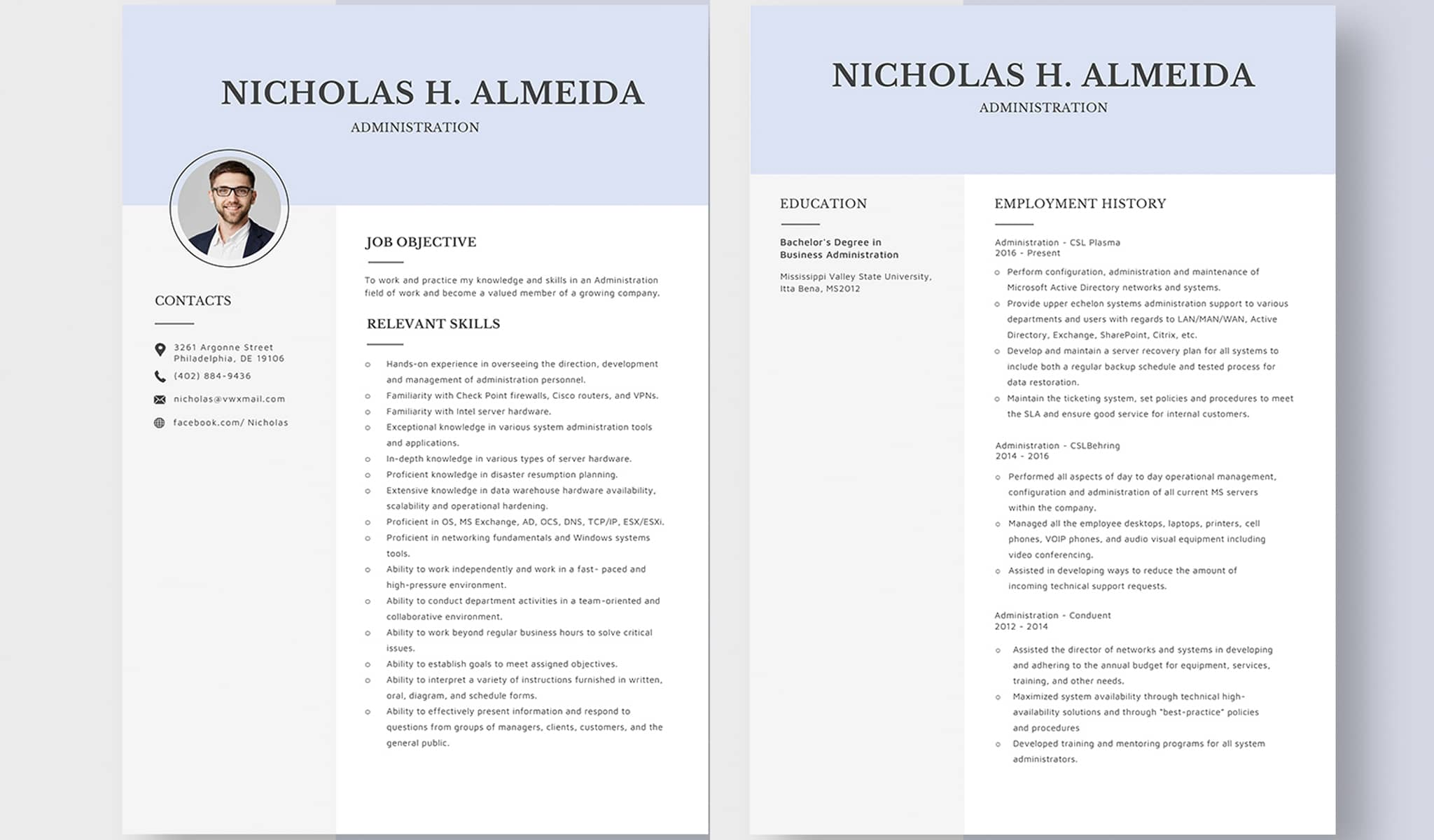 The Ultimate Classic Resume Template