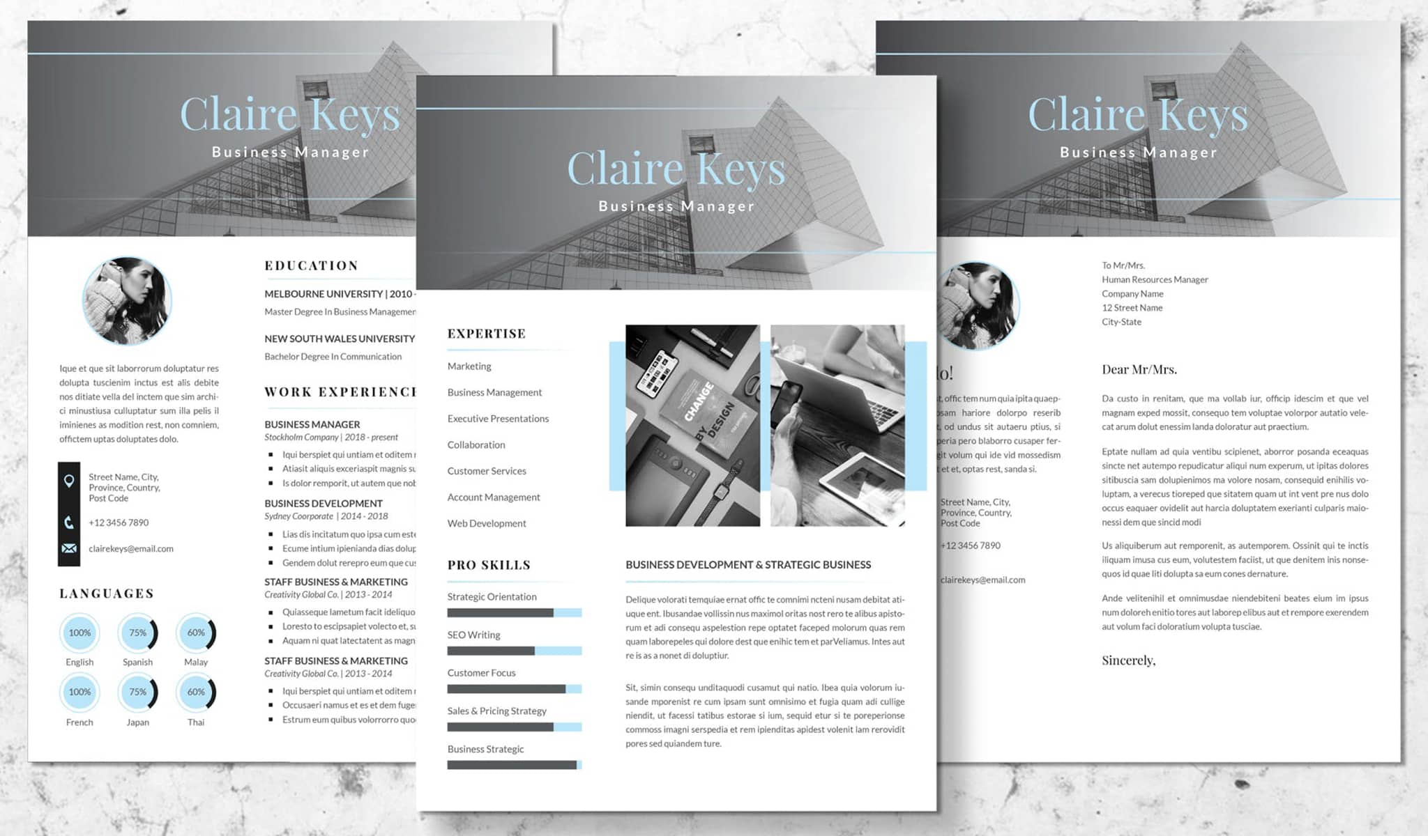 The Extensive Classical Resume Template