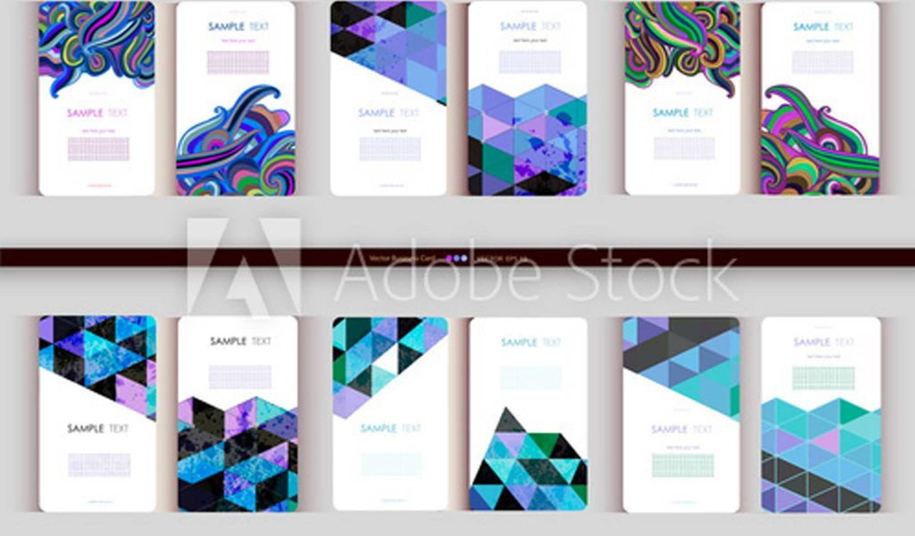 Abstract Creativity Business Card Template