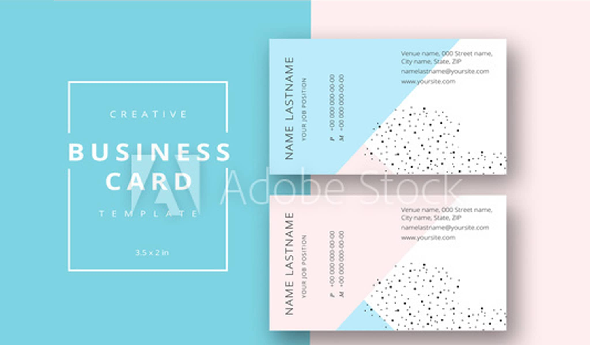Fashion Passion Business Card Template