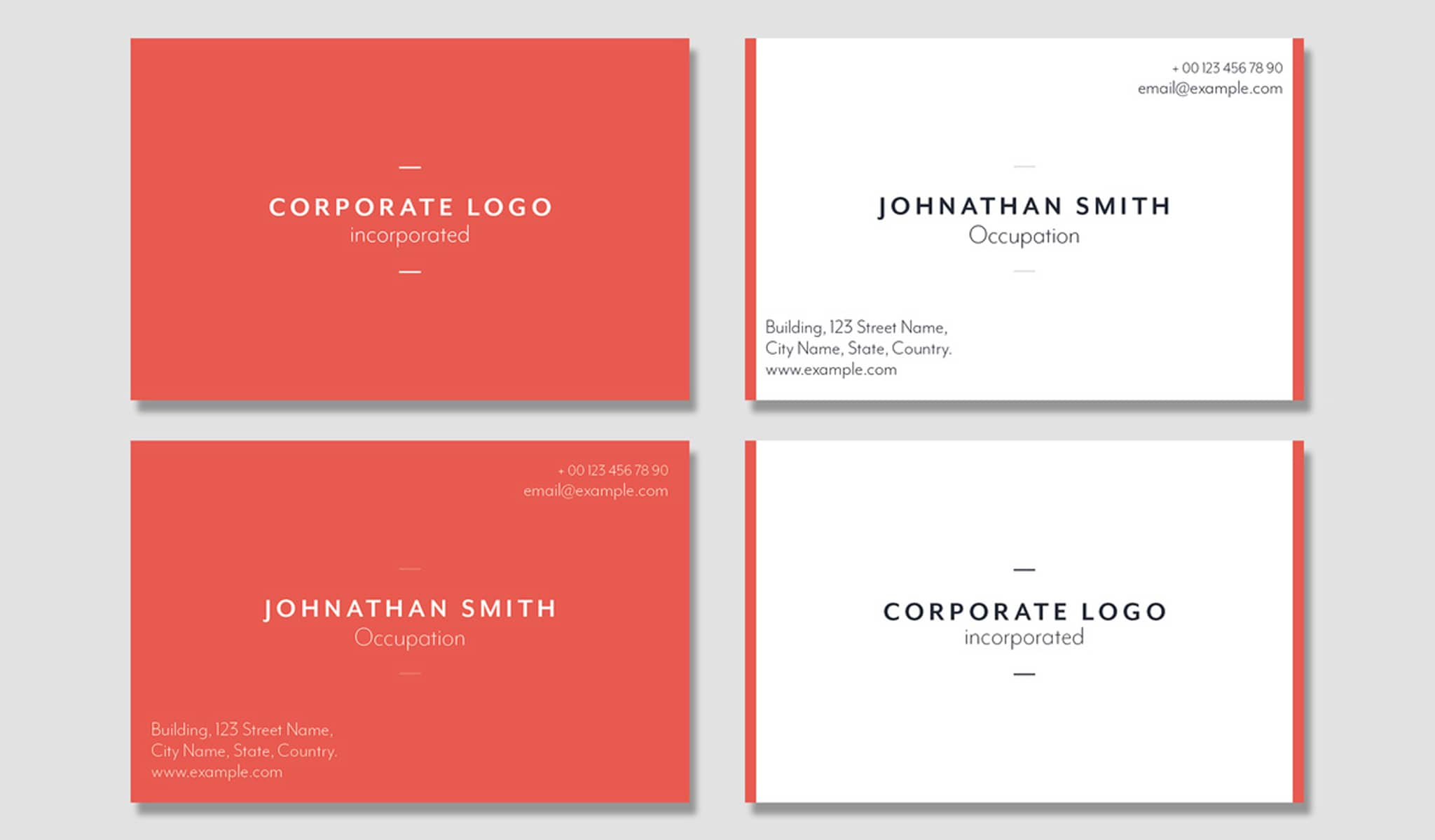 Pink Dominance Business Card Template