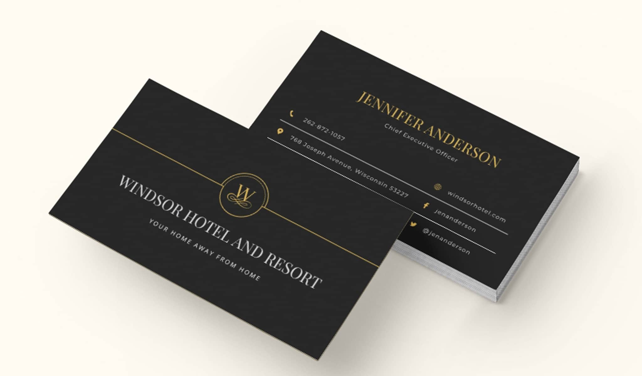 Superior Cooperate Business Card Template