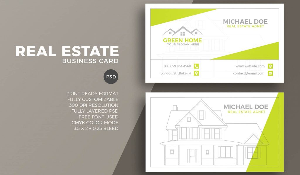 Business Story-Telling Business Card Template