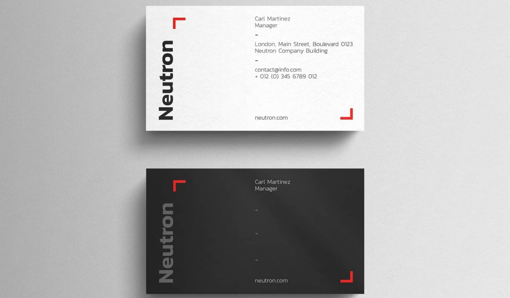 Eye-catching Business Card Template