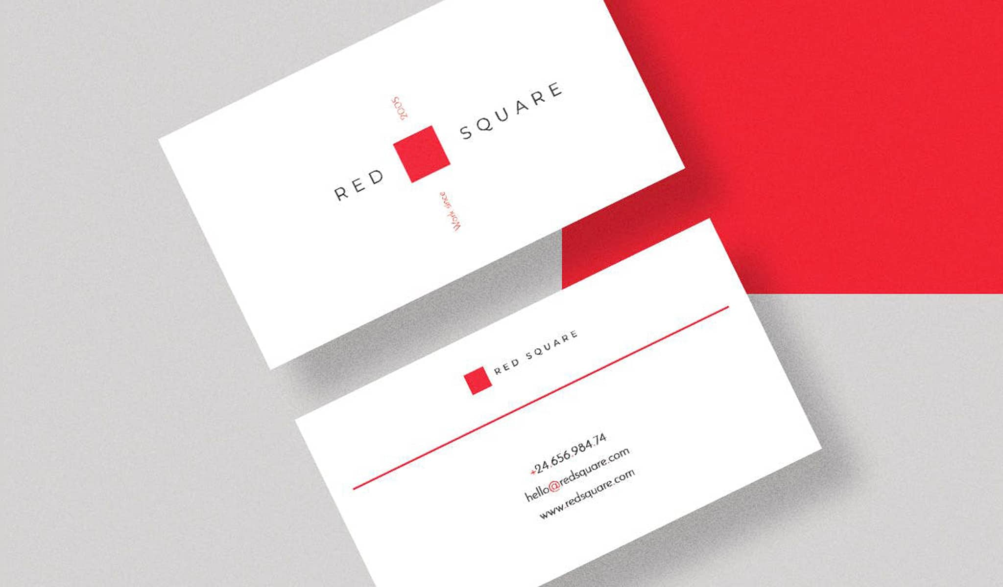 Formal yet Modernistic Business Card Template