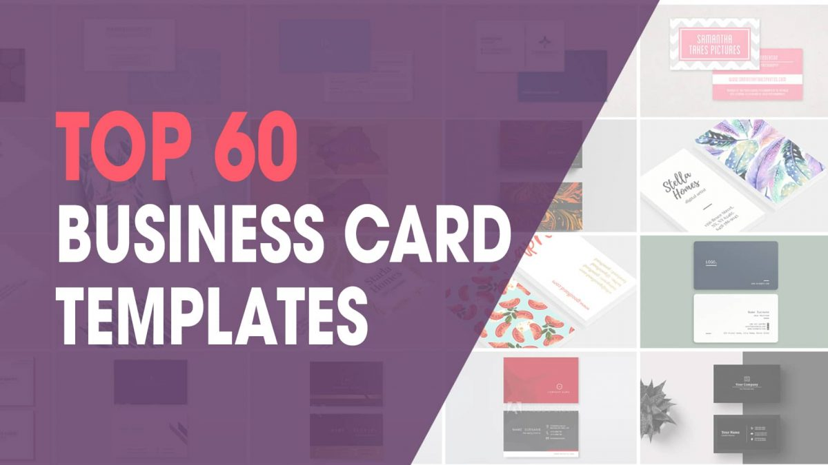 60 Best Business Card Templates