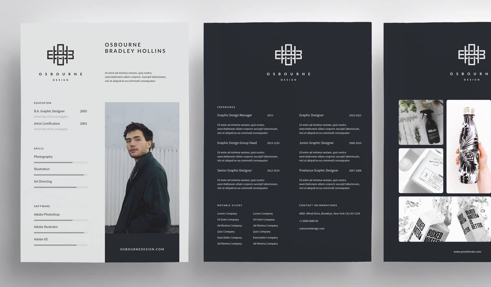 The Logo Resume Template