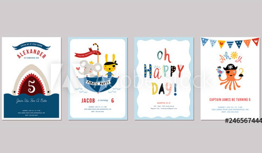 Birthday Boy Invitation Bundle