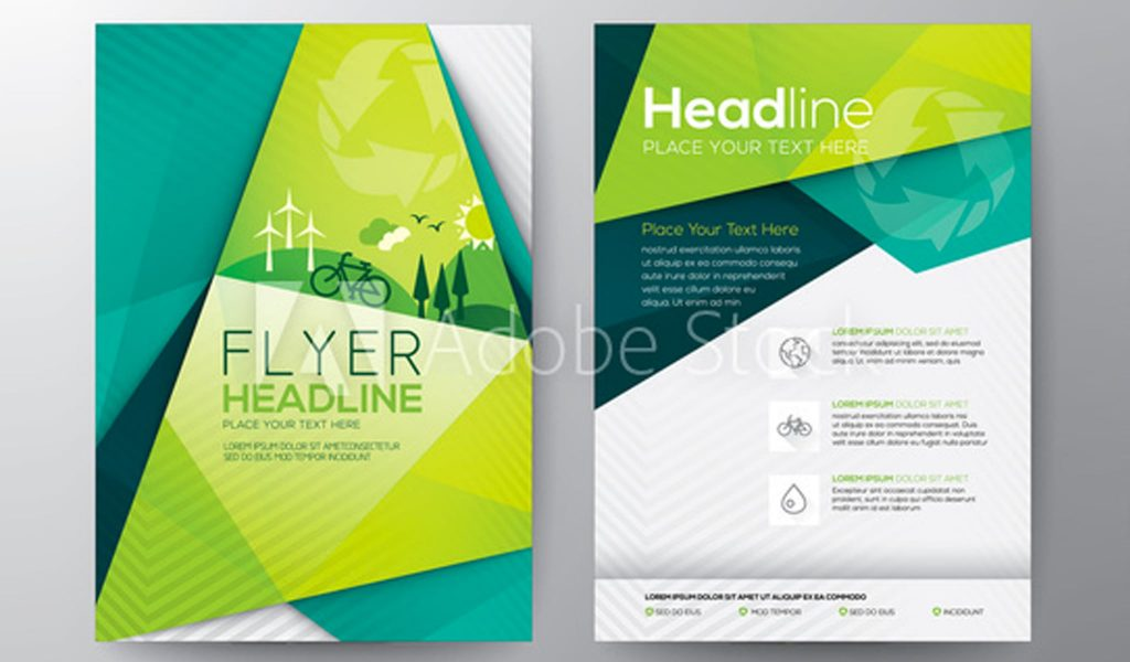 Abstract Triangle Flyer