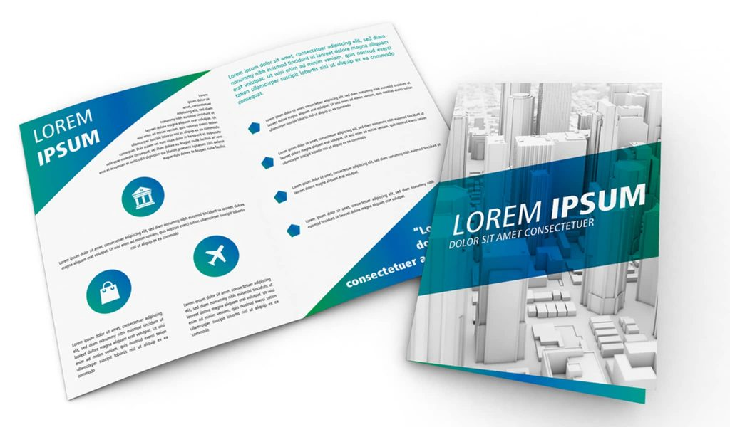 Focus on your Business`s name brochure template